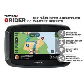 Navegador TomTom Rider 550 World