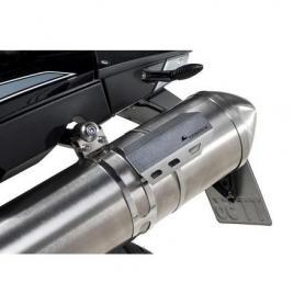 Protector térmico universal de acero inoxidable para el tubo de escape