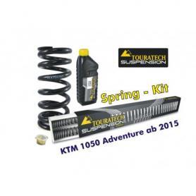 Muelles progresivos de intercambio para horquilla y tubo amortiguador, KTM 1050 Adventure desde el año 2015