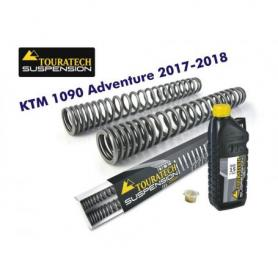 Muelles de Horquilla Progresivos Touratech Suspension para KTM 1090 ADV (-2018) / ADV R (-2019)