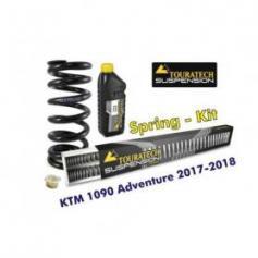 Muelles Progresivos de Recambio para Horquilla y Amortiguador Touratech Suspension para KTM 1090 ADV (-2018) / ADV R (-2019)
