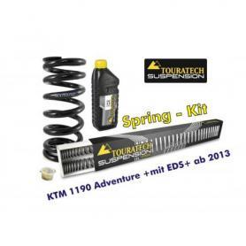 Muelles progresivos de intercambio para horquilla y tubo amortiguador, KTM 1190 Adventure +con EDS+ desde el año 2013