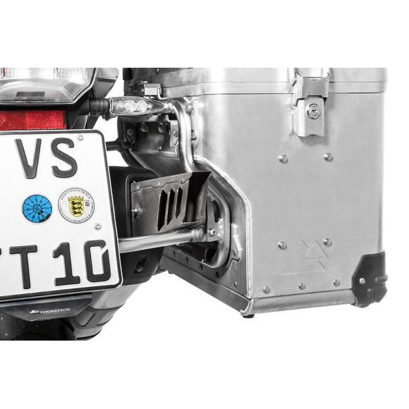 Extensión del escape para el sistema especial de maletas ZEGA Pro2 de BMW R1250GSyAdv / BMW R1200GS y Adv