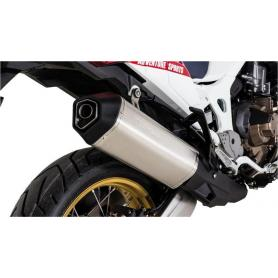 Silenciador final Remus Okami de titanio para Honda CRF1000L Africa Twin (2018-)/ CRF1000L Adventure Sports, slip-on con homologación ABE