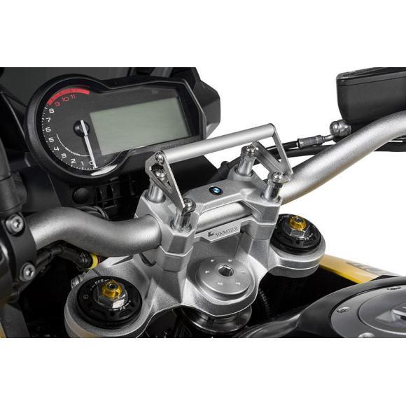Adaptador de montaje GPS para elevador de manillar 20 mm de la BMW F850GS / F850GS Adventure