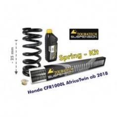 Ajuste de suspensión en 25mm Honda CRF1000L Africa Twin desde el año 2018 muelles de intercambio