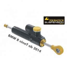"""Amortiguador de dirección Touratech Suspension """"CSC"""" para BMW R nineT a partir de 2014 incl. juego de montaje"""