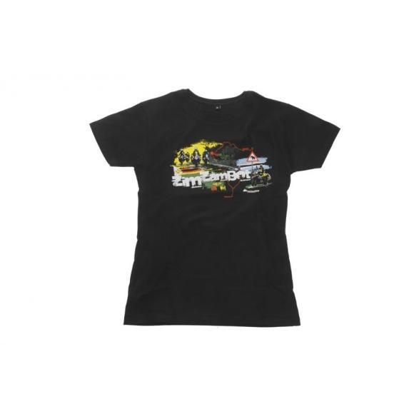 """Camiseta """"ZimZamBot"""" mujer"""