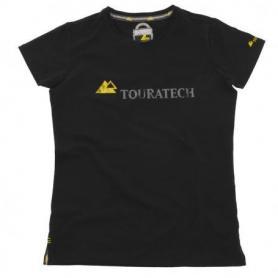 """Camiseta """"Touratech"""" mujer, negra"""
