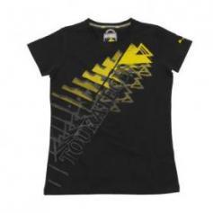 "Camiseta ""Triangle"" mujer, negra"