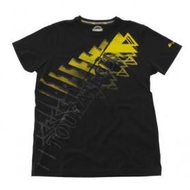 "Camiseta ""Triangle"" hombre, negra"