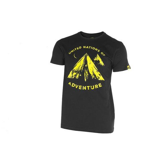 """Camiseta """"Tent"""", hombres, negro"""