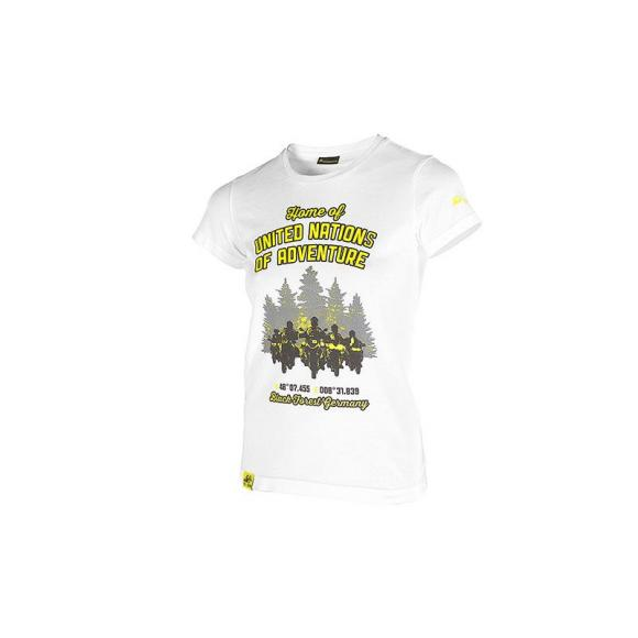 "Camiseta ""Black Forest"", mujeres, blanco"