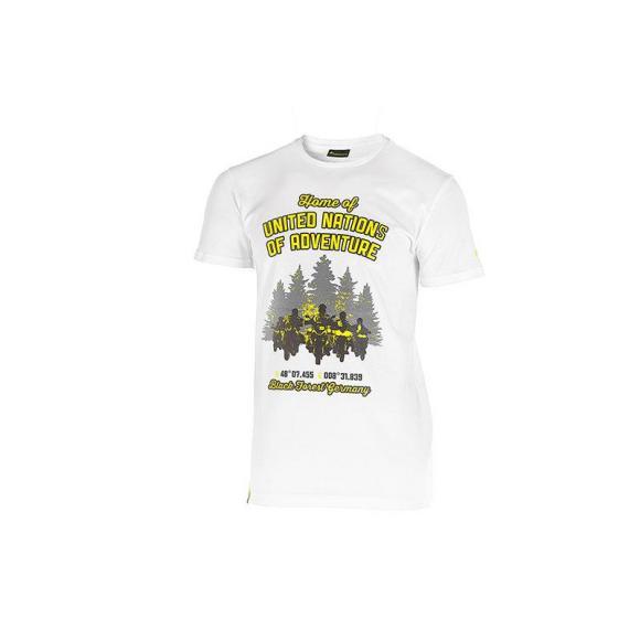 "Camiseta ""Black Forest"", hombres, blanco"