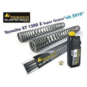 Muelles de horquilla progresivos para Yamaha XT1200Z Super Tenere desde el año 2010