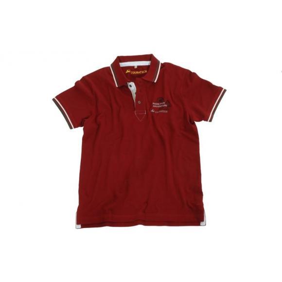 "Polo Shirt ""Adventure Red"" unisexo"
