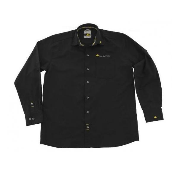 "Camisa ""Touratech"" hombre, negra"