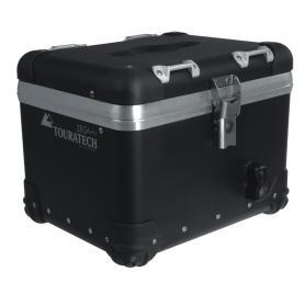 Baul Trasero Moto Zega Pro - Anodizado Negro - 25 litros