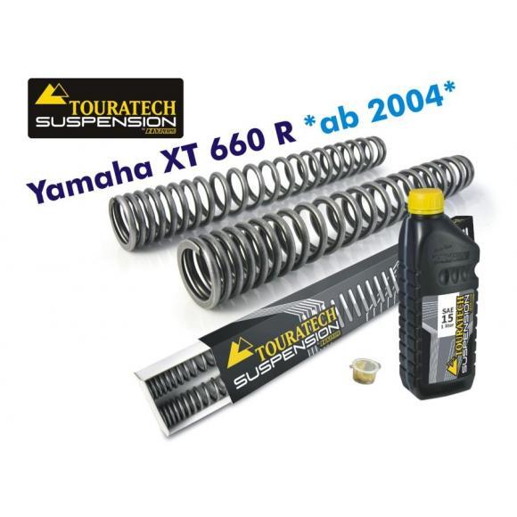 Muelles de horquilla progresivos, Yamaha XT660R *desde el año 2004*