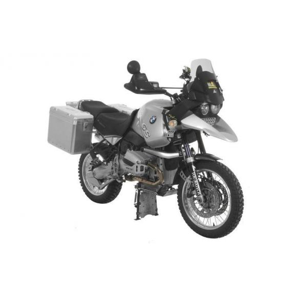 ZEGA Mundo sistema de maletas con soporte acero fino para BMW R1150GS/ R1100GS/ R850GS