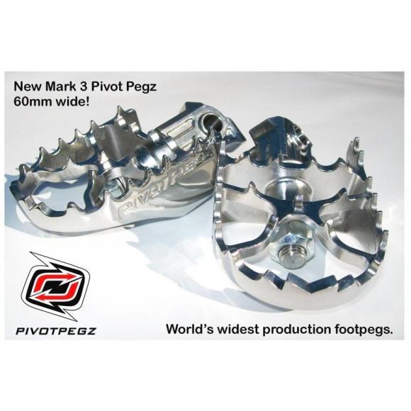 Reposapies pivotante Pivot Pegz para BMW R1200GS hasta 2012 / Adventure hasta 2013