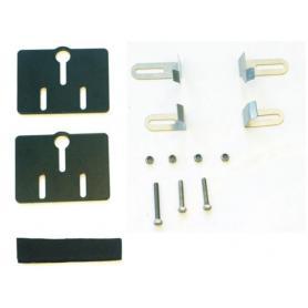 Revestimiento de la DESIERTO III kit de montaje para depósito auxiliar BMW R1200GS hasta 2012/R1200GS Adventure hasta 2013