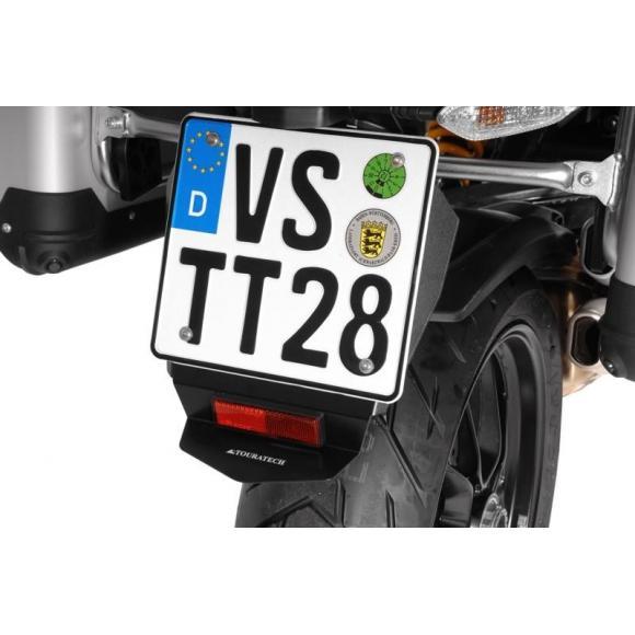 Protección contra salpicaduras para la matrícula Ducati Multistrada 1200 (hasta 2014)/ 950