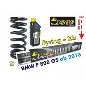 Ajuste de suspensión para BMW F800GS / Adventure *desde el año 2013**muelles de intercambio*