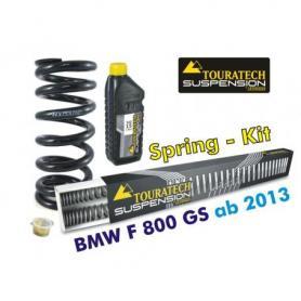 Muelles progresivos Hyperpro para horquilla y tubo amortiguador,BMW F800GS / Adventure *desde el año 2013