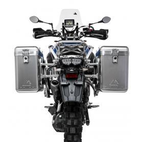 ZEGA Mundo sistema de maletas con soporte acero fino negro para Yamaha XT1200Z / ZE Super Ténéré