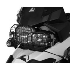 Protector de faros de acero inoxidable con liberación rápida para BMW F800GS y ADV / F700GS / F650GS Twin (desde 2008)