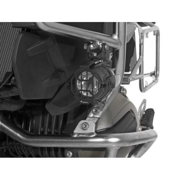 Protección para los faros LED original de BMW, aluminio anodizado, negro hasta 2017