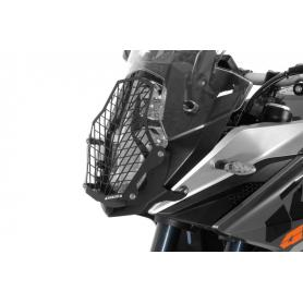 Protección de faro de acero inoxidablepara KTM 1050 ADV/ 1090 ADV/ 1190 ADV/ 1190 ADV R / 1290 Super Adventure