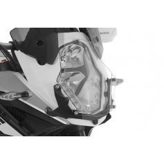 Protección de makrolon para los faros, con cierre rápido, para KTM 1050 ADV / 1090 ADV / 1190 ADV / 1190 ADV R/ 1290 Super Adventure