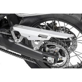 Protector de cadena para Honda CRF1000L Africa Twin/ CRF1000L Adventure Sports - Plata