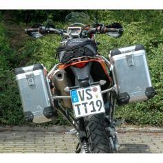 ZEGA Pro sistema de maletas 31/38 litros KTM 690 Enduro / Enduro R