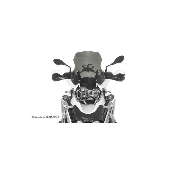 Revestimiento Desierto IV, gris, deflector de viento L transparente, para BMW R1200GS (LC) 2013-2016 (no Adventure)