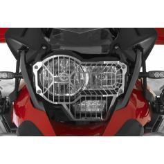 Protección de acero inoxidable para los faros con cierre rápido para faro estándar para BMW R1200GS (LC) 2013-2016