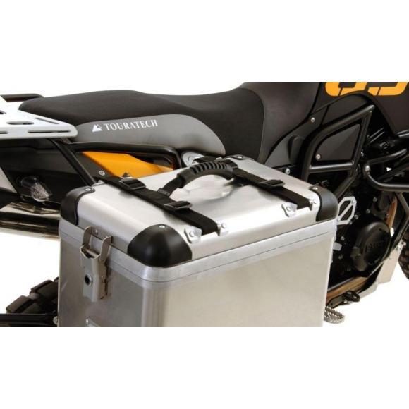 Manillar de transporte con bandolera para maletas de aluminio BMW y Touratech