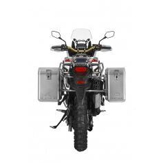 ZEGA Mundo sistema de maletas 31/38 litros con soporte acero fino para Honda CRF1000L Africa Twin
