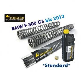 Muelles progresivos de horquilla de intercambio, BMW F800GS hasta 2012