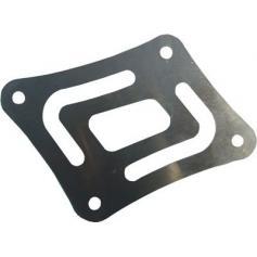 Placa de elevación de 4 mm para la ampliación de la bandeja del caballete lateral BMW R1200GS / Adventure (2006-2012) Accesorio para 044-0205
