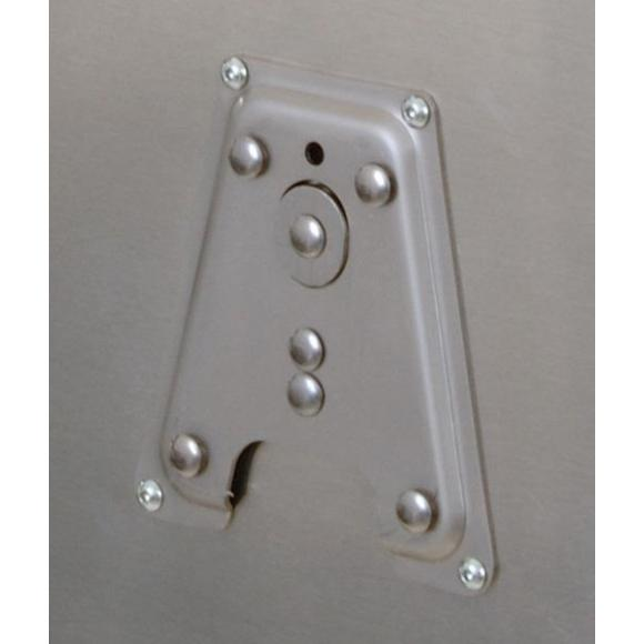 Placa de fijación del soporte de accesorios de las maletas de aluminio BMW y Zega PRO
