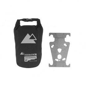 Placa de adaptación universal a maletas de aluminio y funda Touratech Waterproof