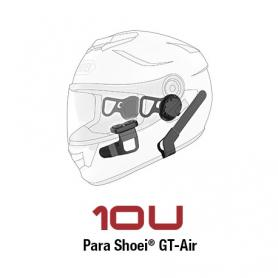 Sistema de comunicación Bluetooth Sena 10U para Shoei GT-Air