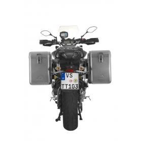 ZEGA Mundo sistema de maletas 31/31 litros con soporte acero fino para Yamaha MT-09 Tracer