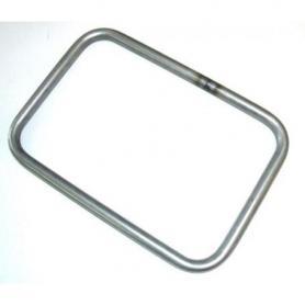 Adaptador Touratech para portamaletas tubulares en acero inolxidable