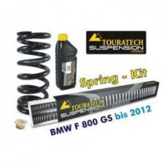 Muelles progresivos para horquilla y tubo amortiguador, BMW F800GS hasta 2012