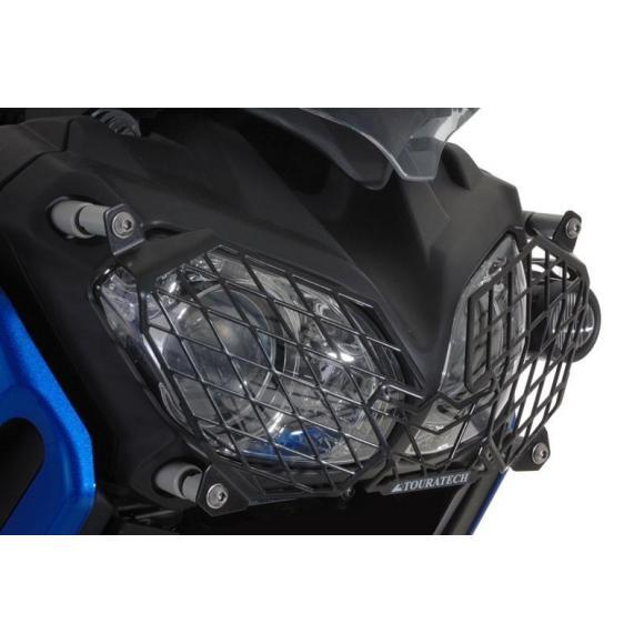 Protector de faros con cierre rápido para Yamaha XT1200Z Super Tenere, acero inoxidable, negro