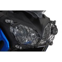 Protección para los faros con cierre rápido para Yamaha XT1200Z Super Tenere, acero inoxidable, negro